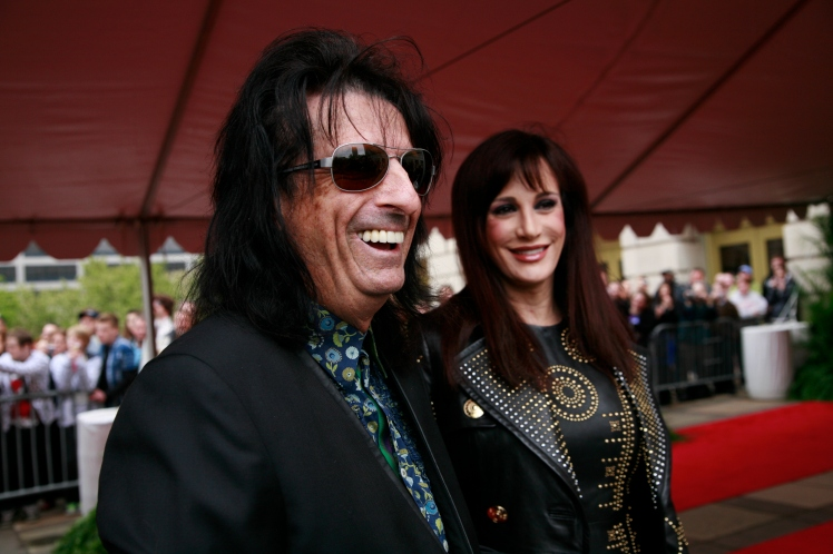 Alice Cooper -  Rock Hall Inductions 2012